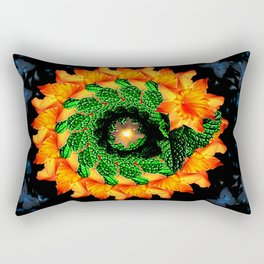SunFlower at Night Rectangular Pillow