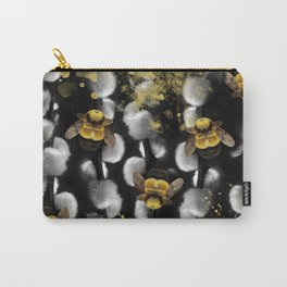 Bumble Bee Willow Carry-All Pouch