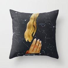 SUMMER STARS Throw Pillow