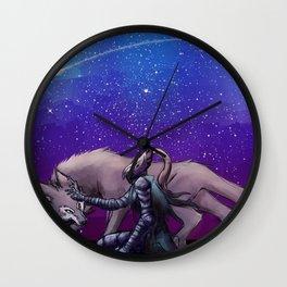 Artorias and Sif Wall Clock