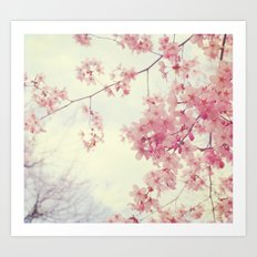 Dreams In Pink Art Print