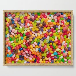 Gourmet Jelly Bean Pattern  Serving Tray