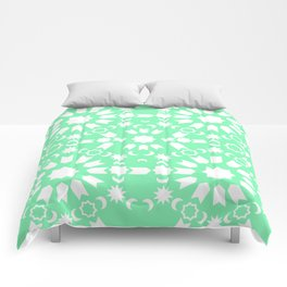 Peppermint Arabesque Comforters