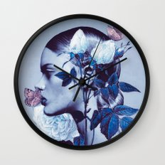 BUTTERFLY KISS Wall Clock