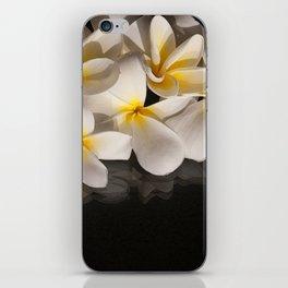 Plumeria iPhone Skin