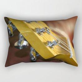 Guitar Headstock Rectangular Pillow