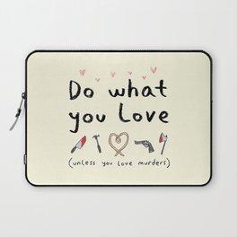 Motivational Poster Laptop Sleeve