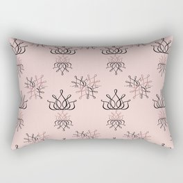 The Lux: Pink Rectangular Pillow
