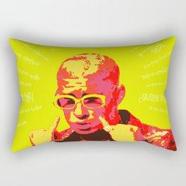 Bad Bunny (Warm) Rectangular Pillow