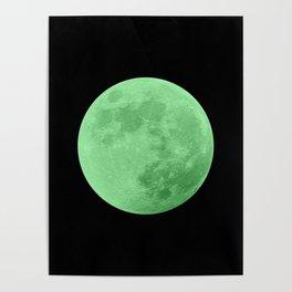 LIME MOON // BLACK SKY Poster