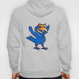 Hornbill Open Arms Full Body Cartoon Hoody