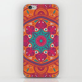Colorful Mandala Pattern 017 iPhone Skin