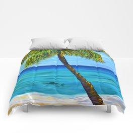 Maui Beach Day Comforters