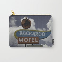 Buckaroo Motel Route 66 Carry-All Pouch