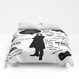 Sherlock Holmes Quotes Comforters