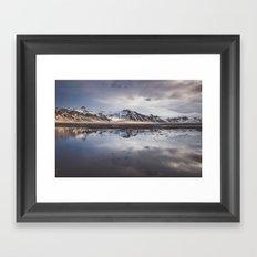 Perfect morning Framed Art Print
