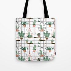 Modern Succulents Tote Bag