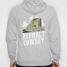 Asphalt Cowboy | Trucker Hoody