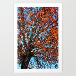 Orange you in love with this tree! Art Print