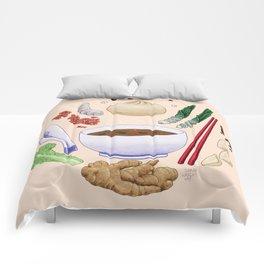 Dumpling Diagram Comforters