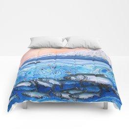 Cook Inlet Wild Alaska Comforters