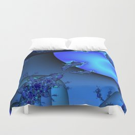 Into Another Dimention  Duvet Cover