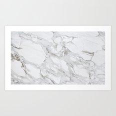 Calacatta Marble Art Print