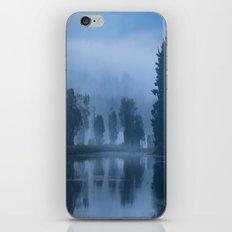 Peaceful Blue iPhone & iPod Skin
