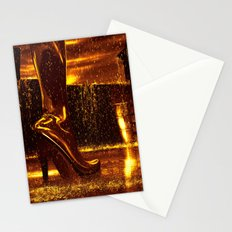 Shiny Boots of Leather Stationery Cards