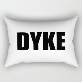 Dyke Rectangular Pillow