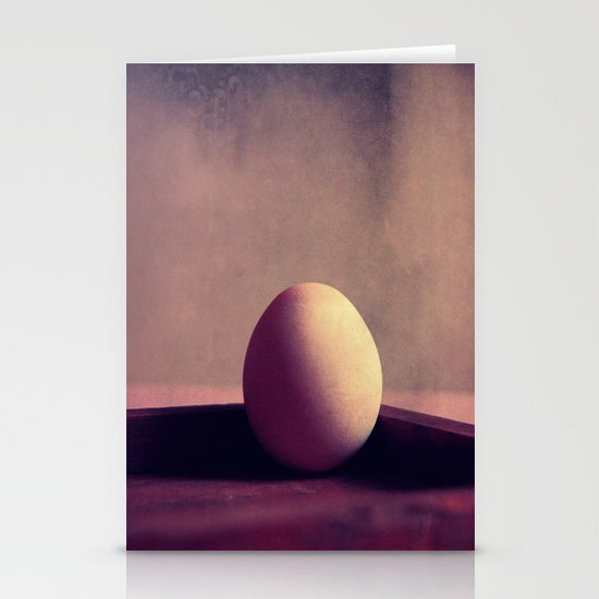 just one egg Stationery Cards