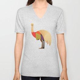 Emu Unisex V-Neck