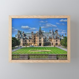 Biltmore Mansion Estate Asheville North Carolina Framed Mini Art Print