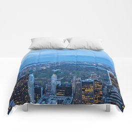 New York City and Central Park Comforters