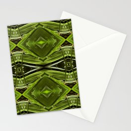 Dew Drop Jewels on Summer Green Grass Stationery Cards