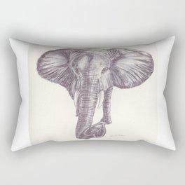 BALLPEN ELEPHANT 12 Rectangular Pillow