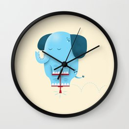 Pogolephant Wall Clock