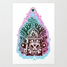 kozmik kandy Art Print