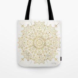 Moroccan Mandala – Gold Palette Tote Bag