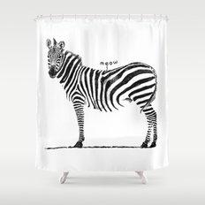 Ninja Cat Shower Curtain