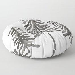 Pine Trees – Black Ink Floor Pillow