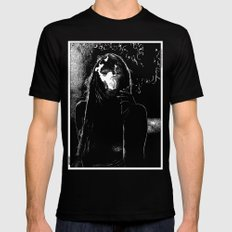 asc 400 - La fumerie (In the dens) Black Mens Fitted Tee LARGE