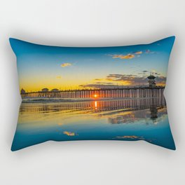 The Sky on the Sand Rectangular Pillow