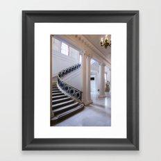 In White Framed Art Print