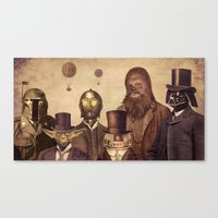contact Canvas Prints featuring Victorian Wars  by Terry Fan