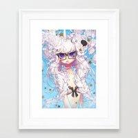 barachan Framed Art Prints featuring fixation by barachan