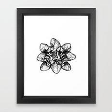 Bound: Hearts Framed Art Print