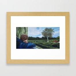 The Labyrinth Framed Art Print