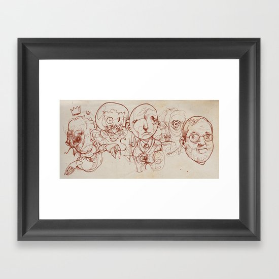 Tourniquet Framed Art Print