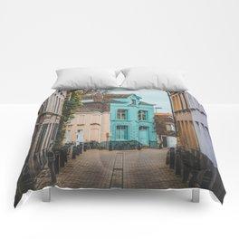 Streets of Belgium Comforters